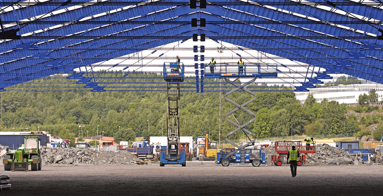 The steel frames in our buildings are unique | BORGA